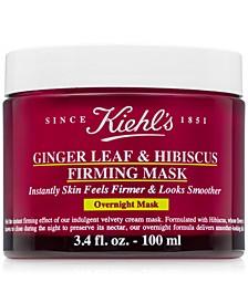 Ginger Leaf & Hibiscus Firming Mask, 3.4 fl. oz.