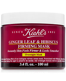 Kiehl's Since 1851 Ginger Leaf & Hibiscus Firming Mask, 3.4 fl. oz.