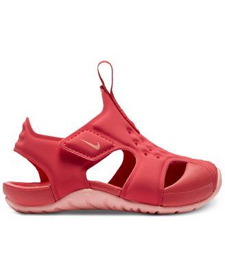 Nike Sunray Protect 2 Sandale für Babys und Kleinkinder - Schwarz
