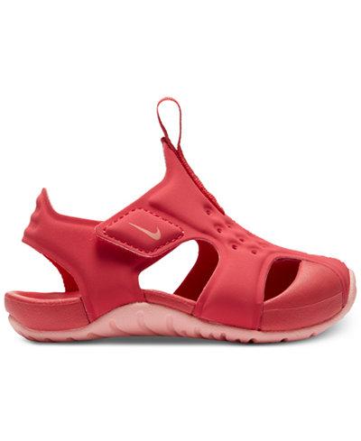 Nike Sunray Protect 2 Sandale für Babys und Kleinkinder - Schwarz G9wSken
