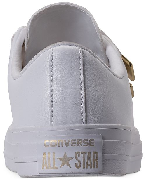 35d84ef91ac3 ... Converse Women s Chuck Taylor 3-Strap Casual Sneakers from Finish ...
