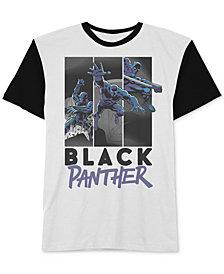 Hybrid Apparel Men's Black Panther Graphic T-Shirt