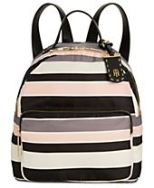 Tommy Hilfiger Julia Victory Stripe Medium Dome Backpack