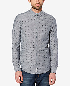 Original Penguin Men's Printed Chambray Shirt