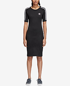 adidas Originals adicolor Cotton Bodycon Dress