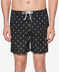 "Original Penguin Men's 6"" Fixed Volley Swimsuit"