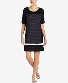 DKNY Contrast-Panel Sleepshirt