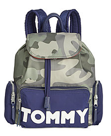 Tommy Hilfiger Camo Backpack