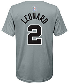 Nike Kawhi Leonard San Antonio Spurs Statement Name and Number T-Shirt, Big Boys (8-20)