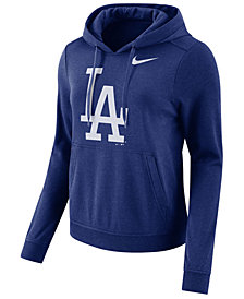 Nike Women's Los Angeles Dodgers Club Pullover Hoodie