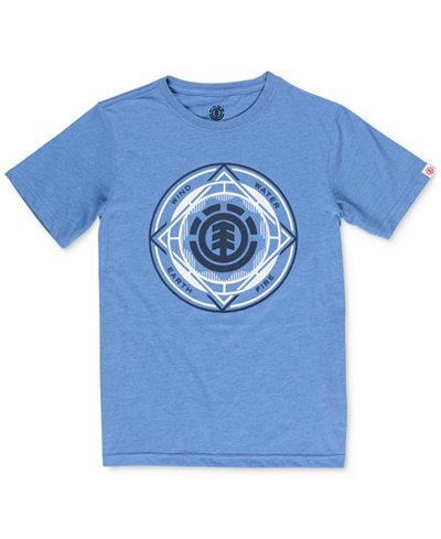 Element Men's Circuit Logo-Print T-Shirt