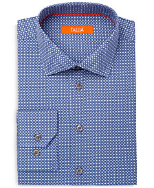 Tallia Men's Slim-Fit Decorative Circles Dress Shirt