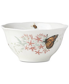 Lenox Butterfly Meadow Flutter Rice Bowl