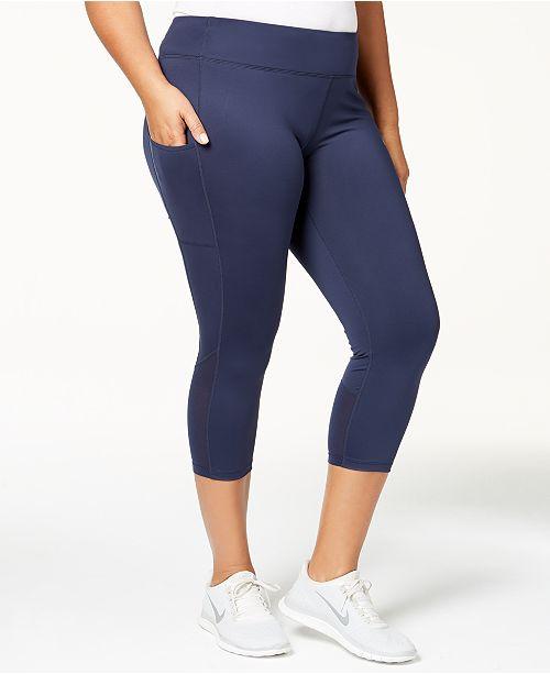 Plus Sizes Racer Leggings Nike Macy's Pants Power Size Capri Hd0wqgA