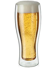 Zwilling J.A. Henckels Sorrento Double Wall Beer Glasses, Set of 2