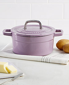 Martha Stewart Collection Collector's Enameled Cast Iron 2 Qt. Round Dutch Oven, Created for Macy's