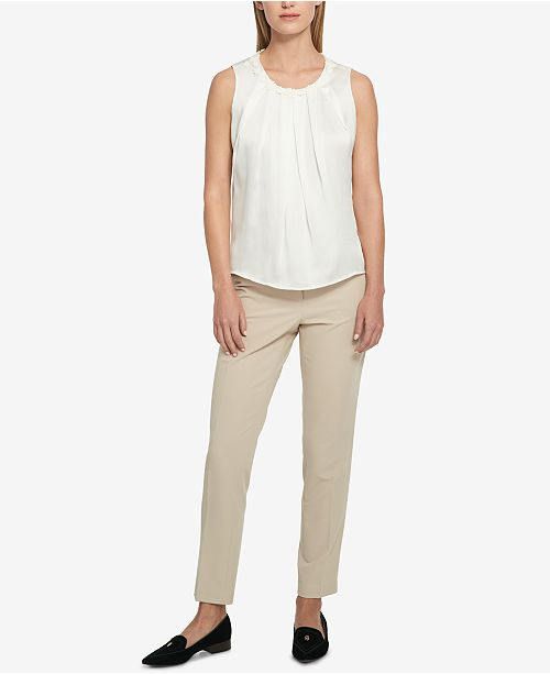 Tommy Hilfiger Pleated Top