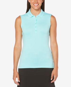SLEEVELESS GOLF POLO