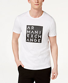 A|X Armani Exchange Men's Boxed Logo T-Shirt