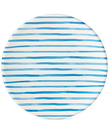 Dansk Nilsen Blue Stripe Dinner Plate