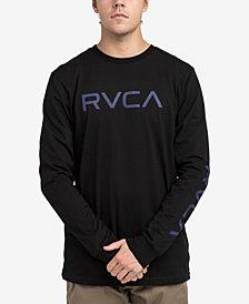 RVCA Men's Big Logo Long-Sleeve T-Shirt