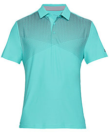 Under Armour Men's Playoff Performance Cross Stripe Golf Polo