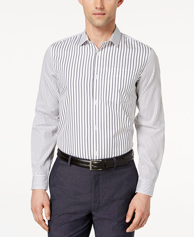 Calvin Klein Variegated Striped Shirt