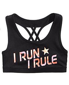 Ideology I Run I Rule Sports Bra, Big Girls, Created for Macy's