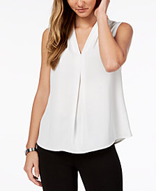 Nine West Pleated Top