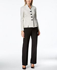 Le Suit Tweed Pantsuit