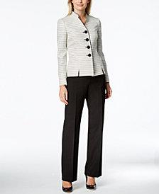 Le Suit Tweed Pantsuit