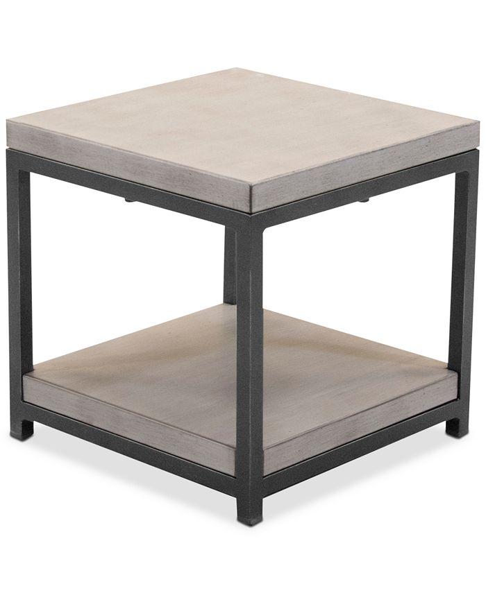 Furniture - Viewport Aluminum Double Shelf End Table