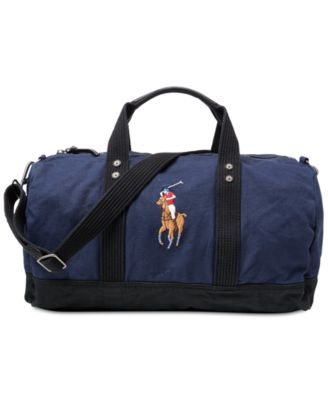 Polo Ralph Lauren. Men\u0027s Canvas Big Pony Duffel Bag. 3 reviews. main image;  main image ...