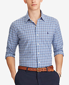 Polo Ralph Lauren Men's Slim Fit Checked Shirt