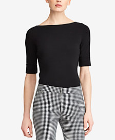 Lauren Ralph Lauren Petite Stretch Top