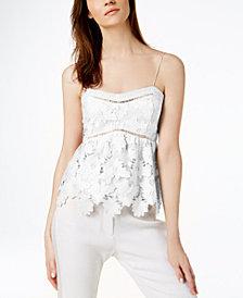 Rachel Zoe Floral-Lace Camisole
