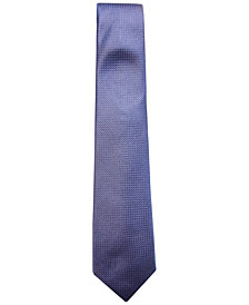 Tasso Elba Men's Texture Silk Tie, Created for Macy's