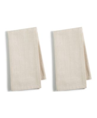 2-Pc. Beige Cotton Napkin Set, Created for Macy's