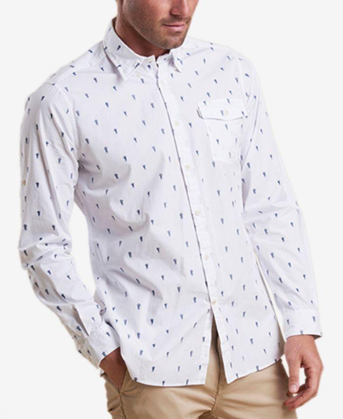 Barbour - Men's Jellyfish Print Shirt