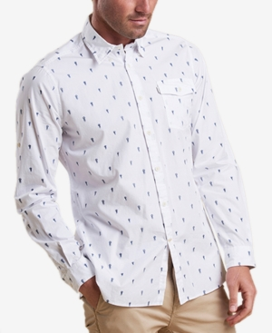 Barbour Men's Jellyfish Print Shirt