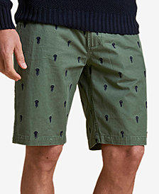 Barbour Men's Jellyfish Embroidered Shorts