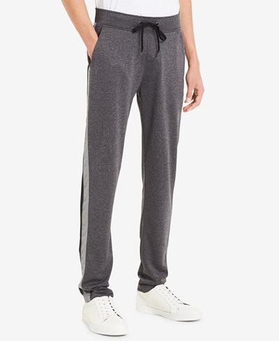 Calvin Klein Men's Striped Knit Pants