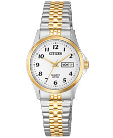 Citizen Women's Quartz Two-Tone Stainless Steel Bracelet Watch 26mm