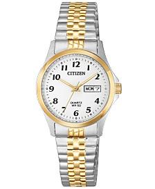 Citizen Women's Quartz Two-Tone Stainless Steel Bracelet Watch 26mm