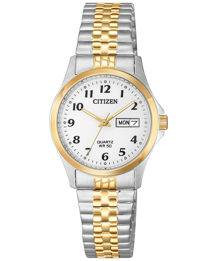 Citizen - Women's Quartz Two-Tone Stainless Steel Expansion Band Watch 26mm
