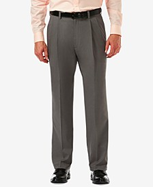 Men's Cool 18 PRO Classic-Fit Expandable Waist Pleated Stretch Dress Pants