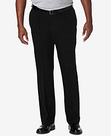 Men's Big & Tall Cool 18 PRO Classic-Fit Expandable Waist Pleated Stretch Dress Pants