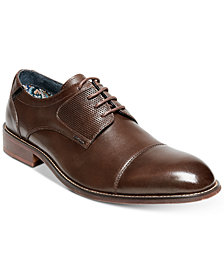 Steve Madden Men's Derium Cap-Toe Oxfords