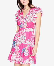 RACHEL Rachel Roy Floral-Print Fit & Flare Dress, Created for Macy's