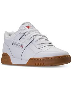 d186de5e50 Reebok Men's Workout Plus Casual Sneakers from Finish Line